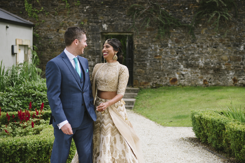 lough eske wedding first look