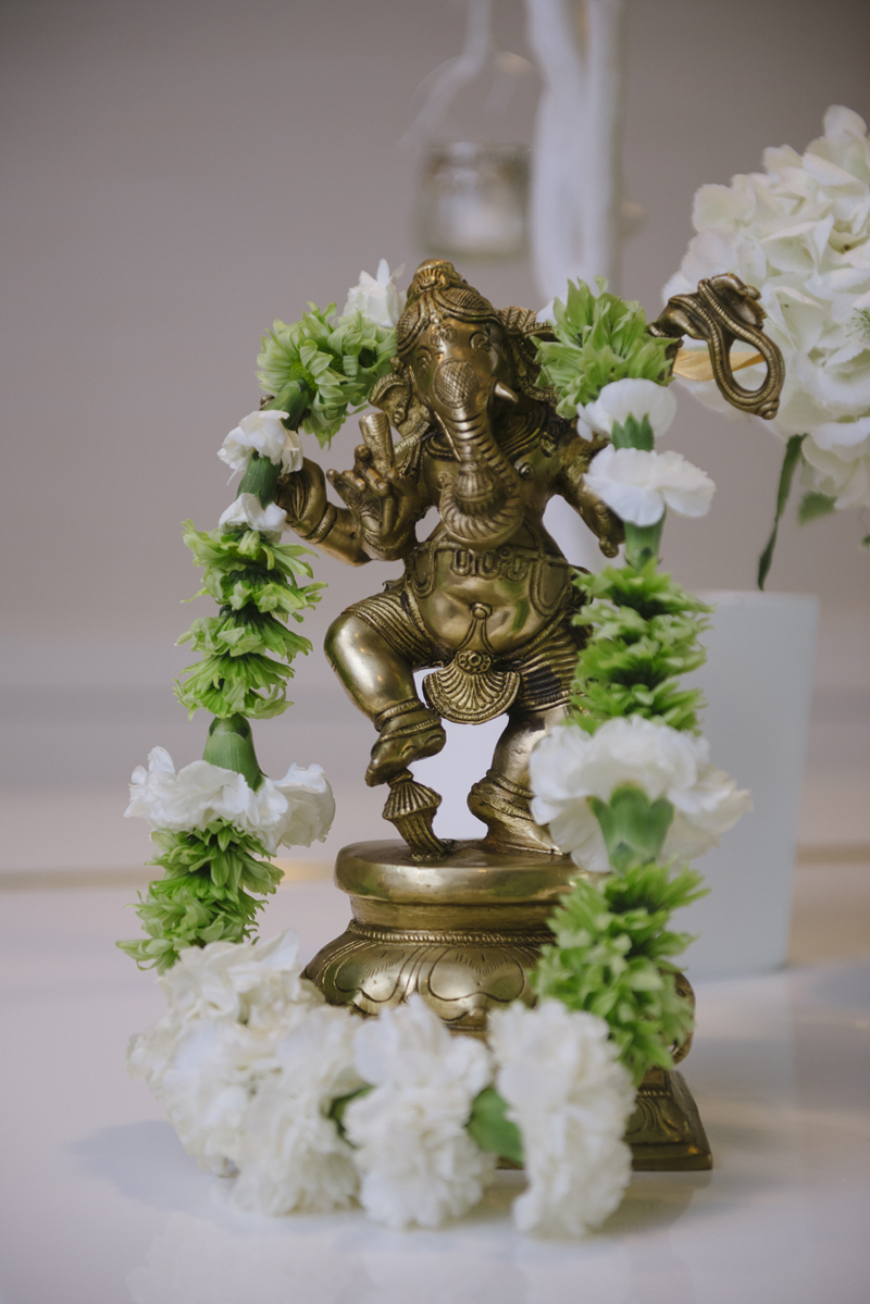 lough eske castle wedding Hindu God Ganesh
