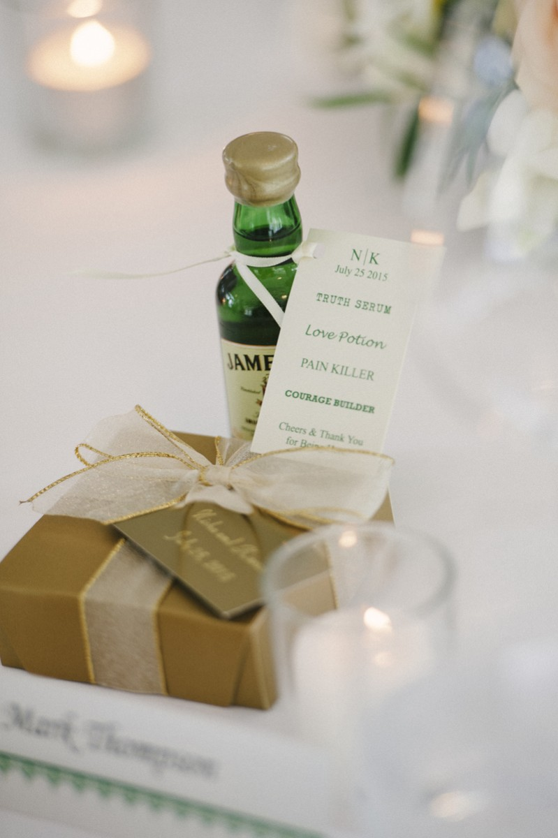 lough eske castle wedding favours