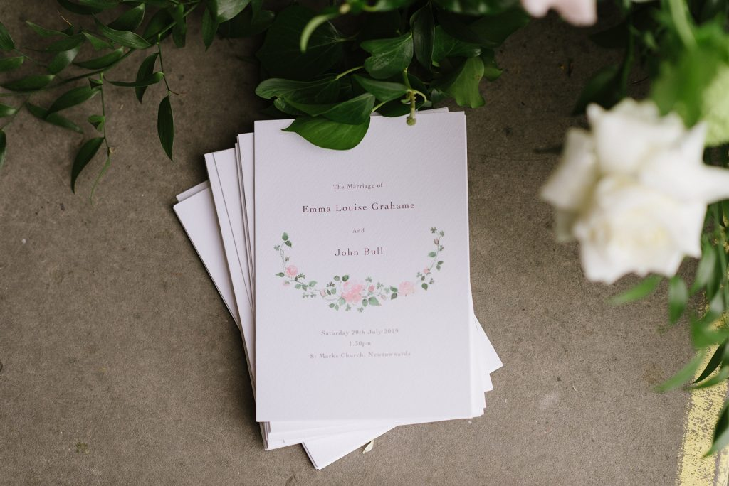 Wedding Stationery Mount Stewart